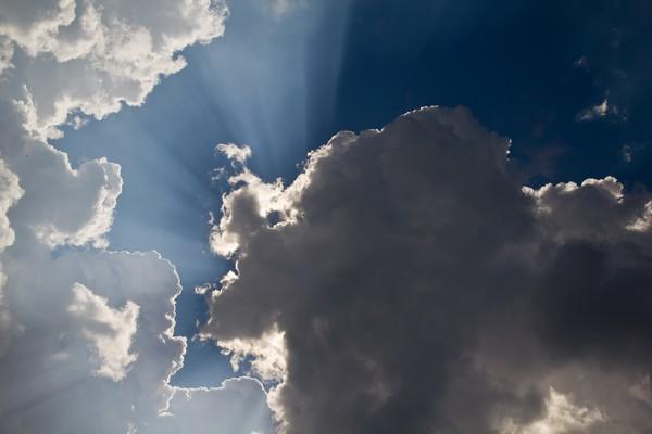 Небо - облака сегодня